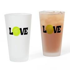 Tennis Love Drinking Glass