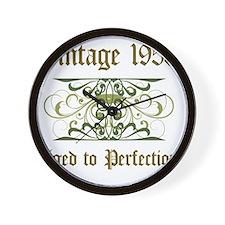 1953 Vintage Birthday (Old English) Wall Clock