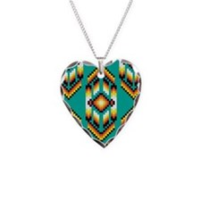 Native American Design Turquoise Necklace