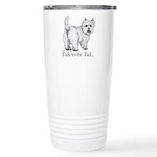 Westie Attitude Travel Mug