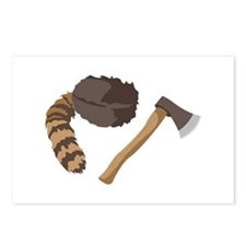 Raccoon Hat and Hatchett Postcards (Package of 8)