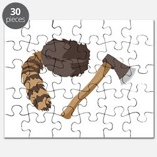 Raccoon Hat and Hatchett Puzzle