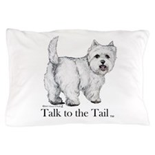 Westie Attitude Pillow Case