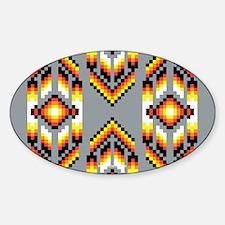 Native American Design Smoke Decal