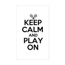 Keep Calm and Play On Decal