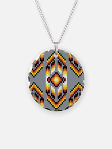 Native American Design Smoke Necklace
