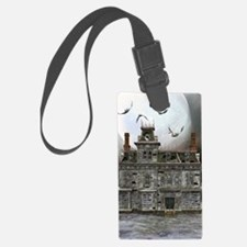Halloween House Luggage Tag
