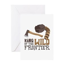 King of the Wild Frontier Greeting Cards