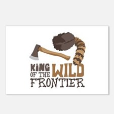 King of the Wild Frontier Postcards (Package of 8)