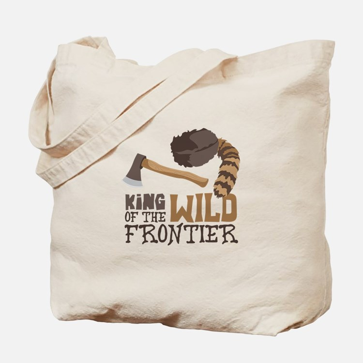 King of the Wild Frontier Tote Bag