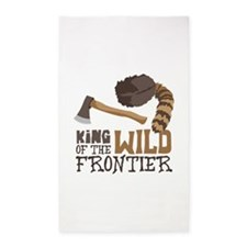 King of the Wild Frontier 3'x5' Area Rug