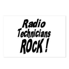 Radio Techs Rock ! Postcards (Package of 8)