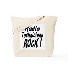 Radio Techs Rock ! Tote Bag