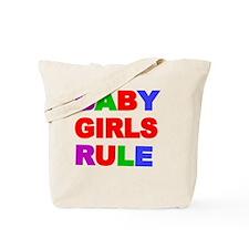 BABY GIRLS RULE Tote Bag