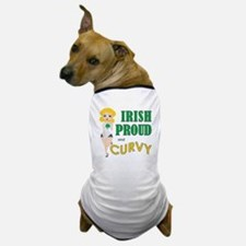 IRISH PROUD CURVY Dog T-Shirt