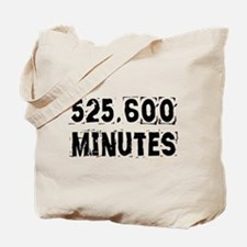525,600 Minutes (light) Tote Bag
