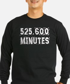 525,600 Minutes (dark) Long Sleeve T-Shirt