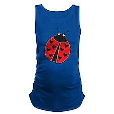 Lady Bug Maternity Tank Top