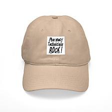 Pharmacy Techs Rock ! Baseball Cap
