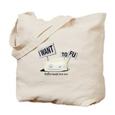 Save The Veggies! Tote Bag
