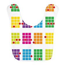 Uke Chords Colourful Bib