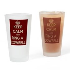 Keep Calm - Ring a Cowbell Drinking Glass