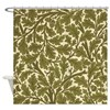 Morris Oak Tree Design Shower Curtain