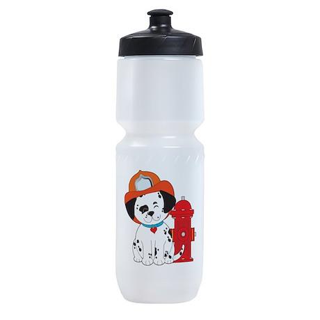 Dalmation Fire Dog Sports Bottle