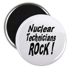 "Nuclear Technicians Rock ! 2.25"" Magnet (100 pack)"