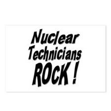 Nuclear Technicians Rock ! Postcards (Package of 8