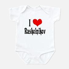 Raskolnikov Love 1 Infant Bodysuit