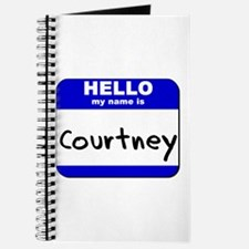 hello my name is courtney Journal
