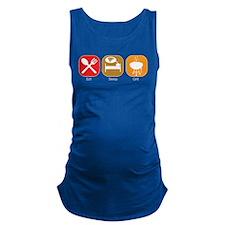 eat_sleep_grill.jpg Maternity Tank Top