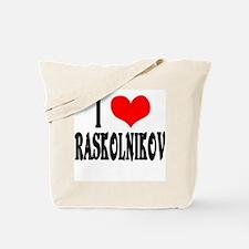 Raskolnikov Love 3 Tote Bag