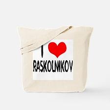 Raskolnikov Love 4 Tote Bag