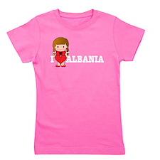 love_albania.jpg Girl's Tee