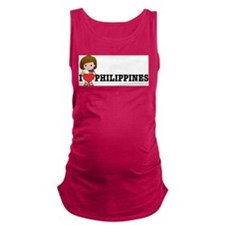 love_philipines.png Maternity Tank Top