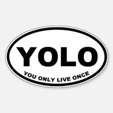YOLO You Only Live Once Decal
