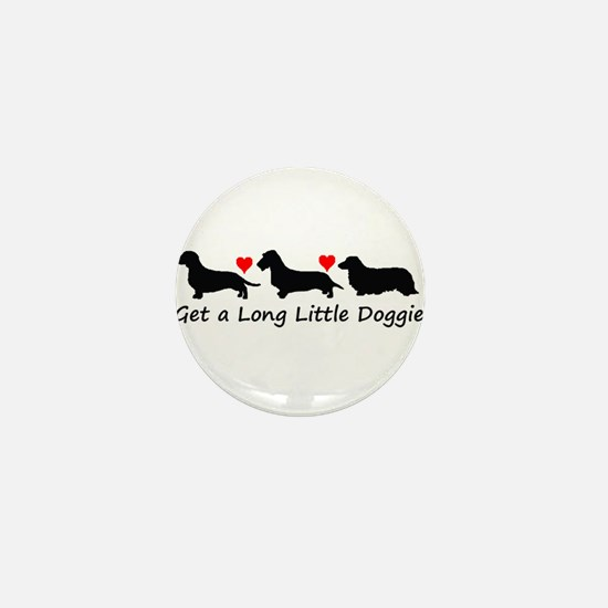 Get a Long Little Doggie.tif Mini Button