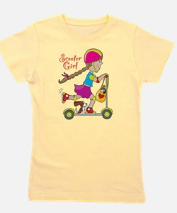 Scooter Kid Girl's Tee
