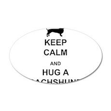 Dachshund - Keep Calm and Hug a Dachshund Wall Decal