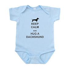 Dachshund - Keep Calm and Hug a Dachshund Onesie