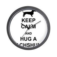 Dachshund - Keep Calm and Hug a Dachshund Wall Clo