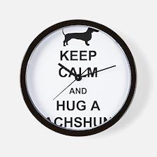 Dachshund - Keep Calm and Hug a Dachshund Wall Clo