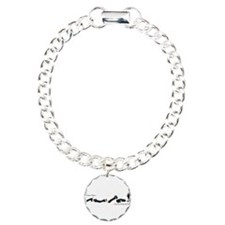 Dachshund - Black and Tan How do I Love Thee Bracelet