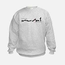 Dachshund - Black and Tan How do I Love Thee Sweatshirt