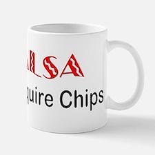 """Salsa Chips"" Mug"