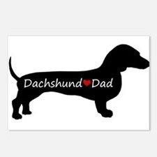 Dachshund Dad Postcards (Package of 8)