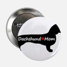 "Dachshund Mom 2.25"" Button (10 pack)"