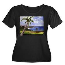 Beautiful Kauai Plus Size T-Shirt